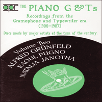 APR5532 - The Piano G & Ts, Vol. 2 � Alfred Gr�nfeld, Raoul Pugno & Natalia Janotha