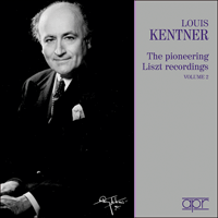 APR5614 - Louis Kentner � The pioneering Liszt recordings, Vol. 2