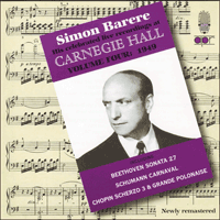 APR5624 - Simon Barere � His celebrated live recordings at Carnegie Hall, Vol. 4 � 1949