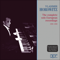 APR6004 - Vladimir Horowitz � The complete solo European recordings