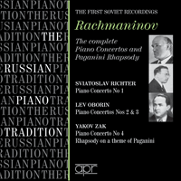 APR6005 - Rachmaninov: Piano Concertos