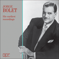 APR6009 - Jorge Bolet � His earliest recordings