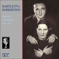 APR6012 - Bartlett & Robertson � Selected recordings, 1927-1947