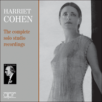 APR7304 - Harriet Cohen � The complete solo studio recordings