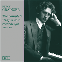 APR7501 - Percy Grainger � The complete 78-rpm solo recordings