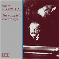 APR7503 - Moriz Rosenthal � The complete recordings
