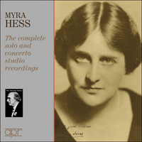 APR7504 - Myra Hess � The complete solo and concerto studio recordings