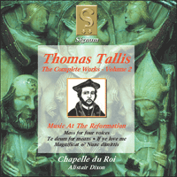 SIGCD002 - Tallis: The Complete Works, Vol. 2