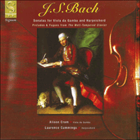 SIGCD024 - Bach: Sonatas for viola da gamba and harpsichord