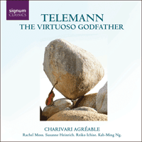 SIGCD086 - Telemann: The Virtuoso Godfather
