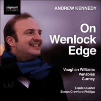 SIGCD112 - Vaughan Williams, Venables & Gurney: On Wenlock Edge & other songs