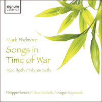 SIGCD124 - Roth: Songs in time of war
