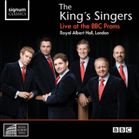 SIGCD150 - The King's Singers - Live at the BBC Proms