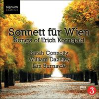 SIGCD160 - Korngold: Sonnett für Wien & other songs