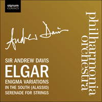 SIGCD168 - Elgar: Enigma Variations, In the South & Serenade for strings