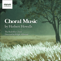 SIGCD190 - Howells: Choral Music