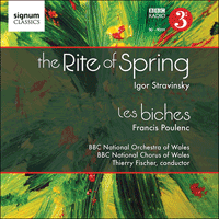 SIGCD205 - Stravinsky: The Rite of Spring; Poulenc: Les biches