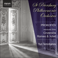 SIGCD214 - Prokofiev: Suites from Cinderella & Romeo and Juliet