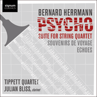 SIGCD234 - Herrmann: Psycho Suite & other works
