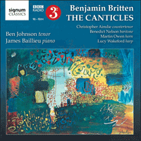 SIGCD317 - Britten: The Canticles