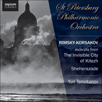SIGCD320 - Rimsky-Korsakov: Scheherazade & The invisible city of Kitezh