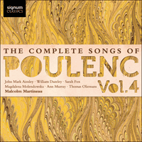SIGCD323 - Poulenc: The Complete Songs, Vol. 4