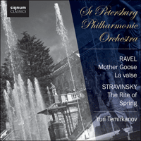SIGCD330 - Ravel: Mother Goose & La valse; Stravinsky: The Rite of Spring