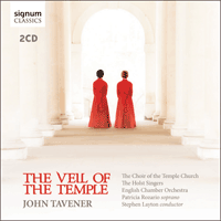 SIGCD367 - Tavener: The Veil of the Temple