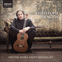 SIGCD382 - Dowland: Mister Dowland's Goodnight