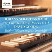 SIGCD802 - Bach: The Complete Organ Works, Vol. 2