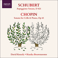 SIGCD824 - Schubert & Chopin: Cello Sonatas