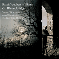 CKD296 - Vaughan Williams: On Wenlock Edge; Warlock: The Curlew; Gurney: Ludlow and Teme
