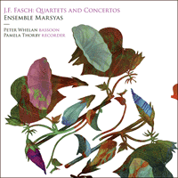 CKD467 - Fasch: Quartets and Concertos