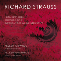 CKD538 - Strauss: Metamorphosen, Serenade & Symphony for wind instruments