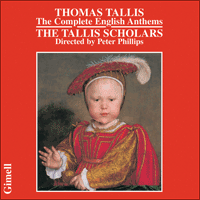 CDGIM007 - Tallis: The Complete English Anthems