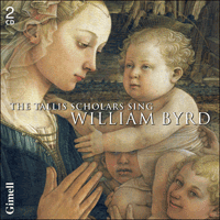 CDGIM208 - Byrd: The Tallis Scholars sing William Byrd