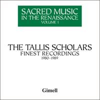 GIMBX301 - Sacred Music in the Renaissance, Vol. 1