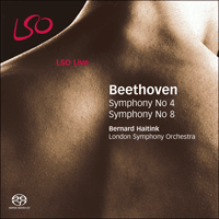 LSO0587 - Beethoven: Symphonies Nos 4 & 8