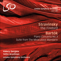 LSO5076 - Stravinsky: The Firebird; Bartók: Piano Concerto No 3