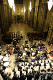 Westminster Abbey Choir and the Britten Sinfonia recording Duruflé's Requiem