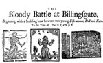 The Bloody Battle at Billingsgate 'The Orange � Hit and Miss'