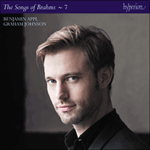 Brahms: The Complete Songs, Vol. 7 - Benjamin Appl