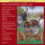 Byrd: Infelix ego & other sacred music