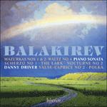 Balakirev: Piano Sonata & other works