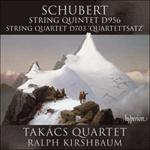 Schubert: String Quintet & String Quartet D956 & 703