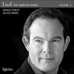 Liszt: The Complete Songs, Vol. 3 - Gerald Finley