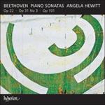 Beethoven: Piano Sonatas Opp 22, 31/3 & 101