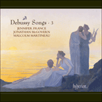 Debussy: Songs, Vol. 3