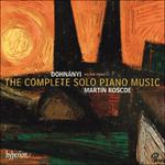 Dohnányi: The Complete Solo Piano Music, Vol. 3