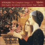 Strauss: The Complete Songs, Vol. 7 - Günter Haumer & Ruby Hughes